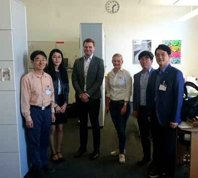 Koreanische Delegation