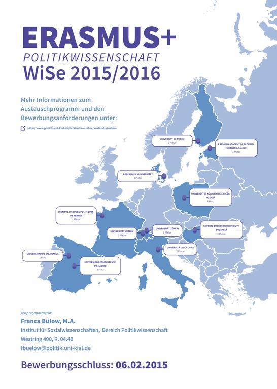 Plakat Erasmus 2015/16