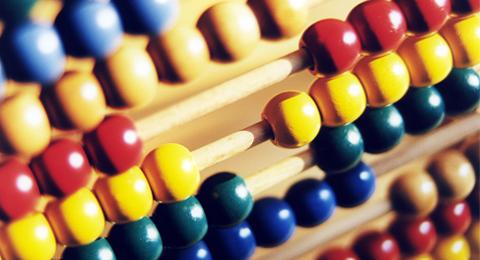 The picture shows an abacus. Photo & Copyright: Markus Hauser / Uni Kiel